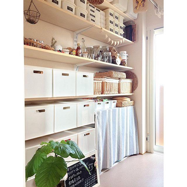 収納スペース以外には床に物を置かない方法