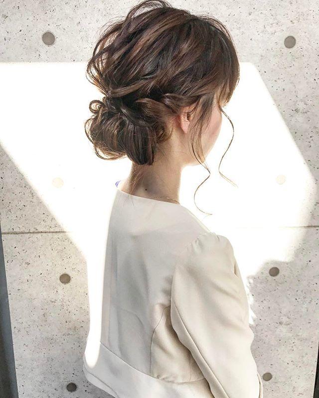 仕事におすすめのまとめ髪8