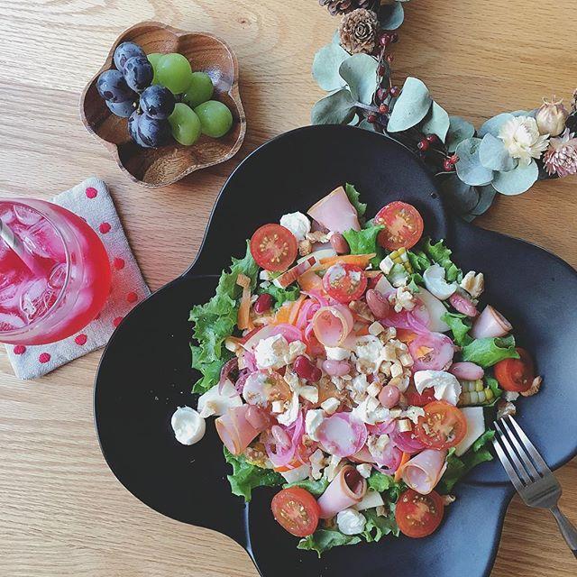 夕飯の美味しいおかず!パワーサラダ