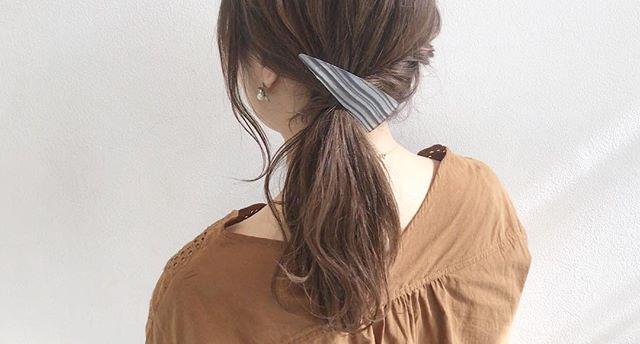 仕事におすすめのまとめ髪