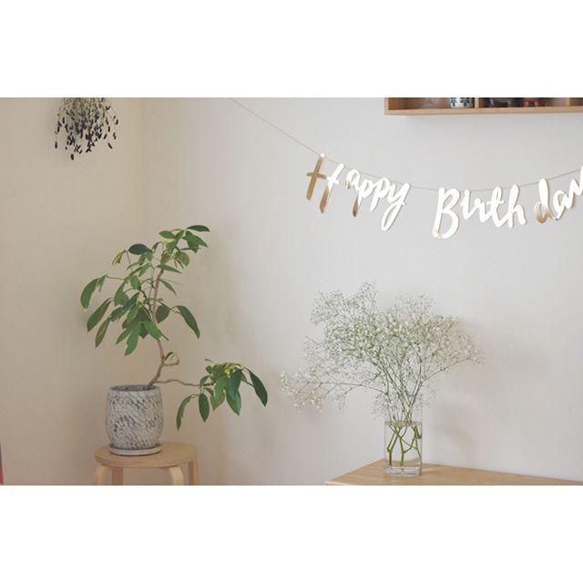 1歳お誕生日の飾り付け8