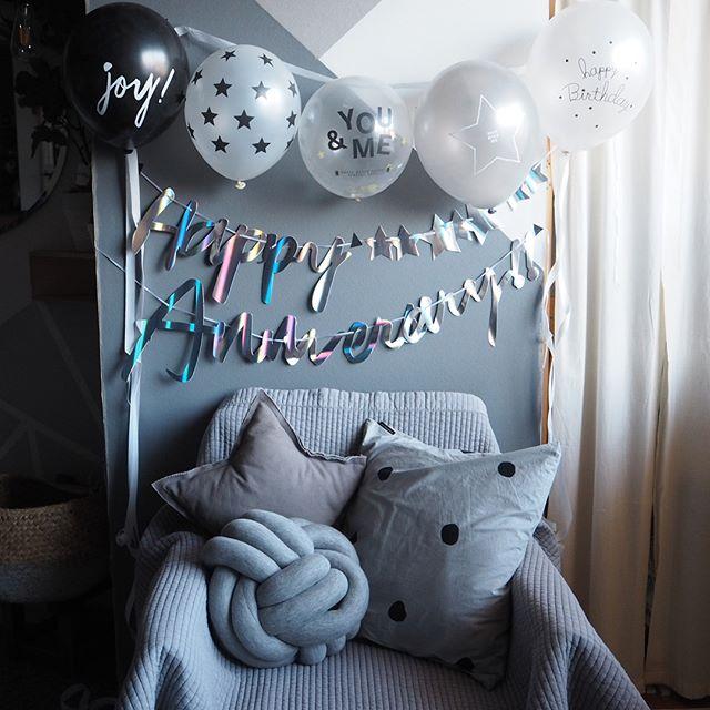 1歳お誕生日の飾り付け10