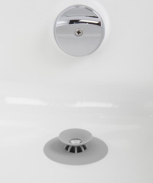 お風呂の栓にもなるヘアキャッチャー