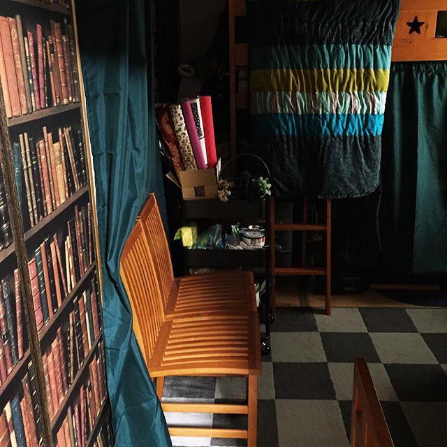 和室に見えないアートな空間