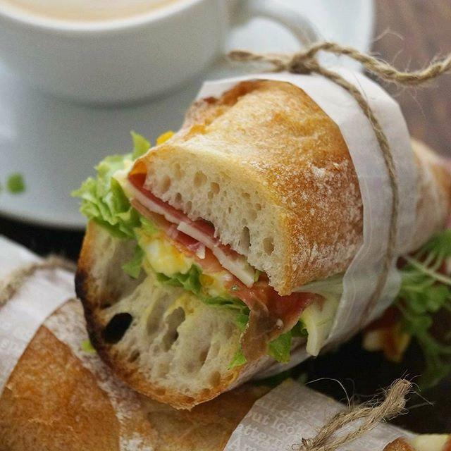 食べ応えアップ!サンドイッチ