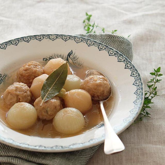 夕食のメニューにおすすめ!まん丸スープ
