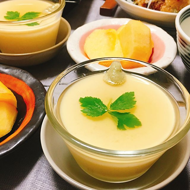 おしゃれな和食のおもてなし!卵豆腐