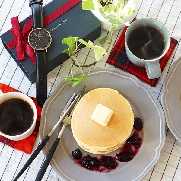 朝食におすすめ!バターホットケーキ
