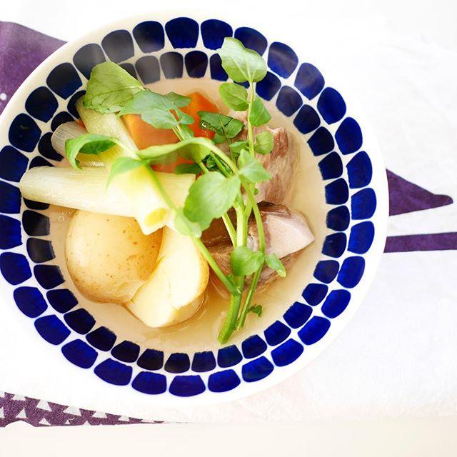 栄養満点のスープレシピに塩豚ポトフ