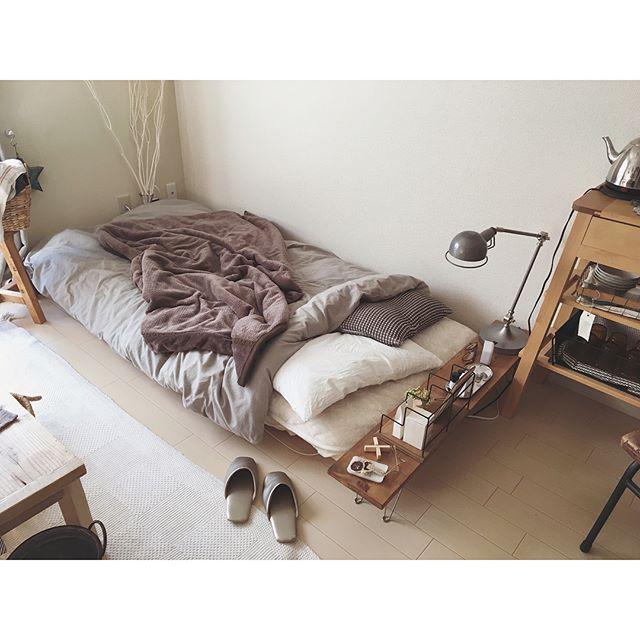 寝室コーデ