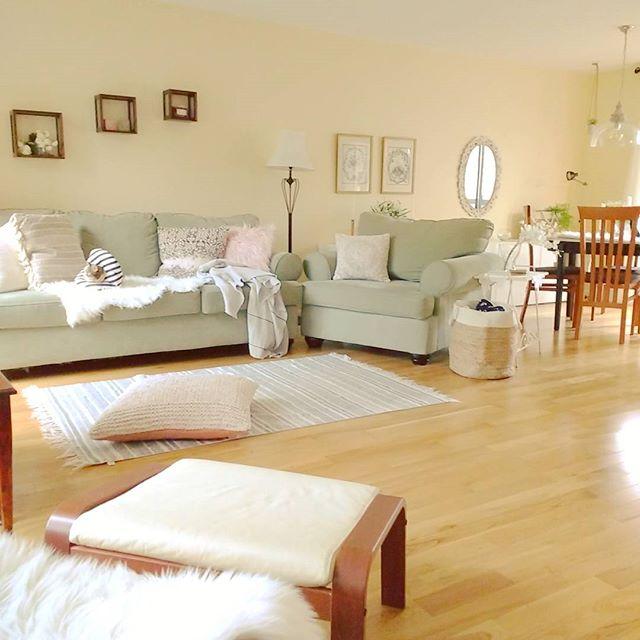 運気を上げる家具の配置〈西方角のリビング〉