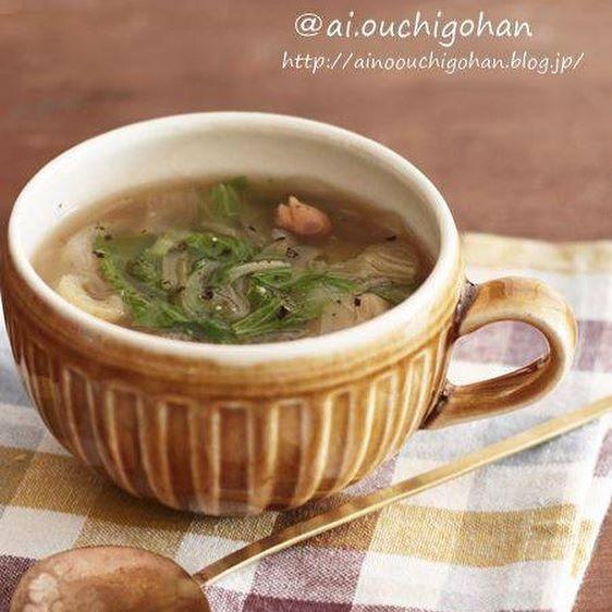 香りが良いメニュー!セロリのスープ