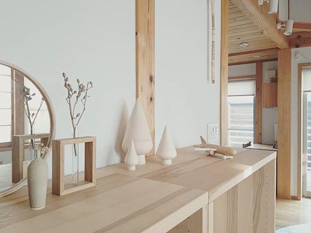 木製に癒される空間