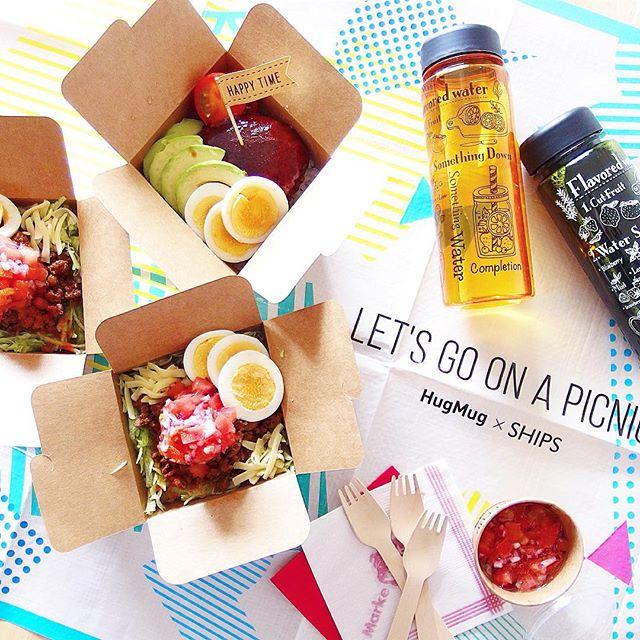 ピクニックのお弁当の詰め方☆ご飯2