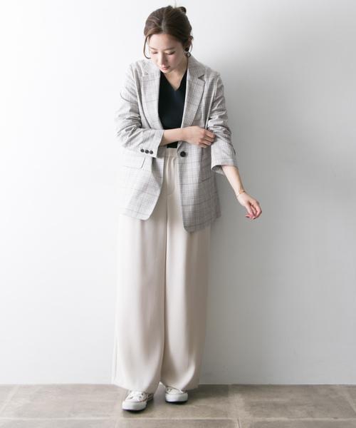 [URBAN RESEARCH] Arollaチェックジャケット