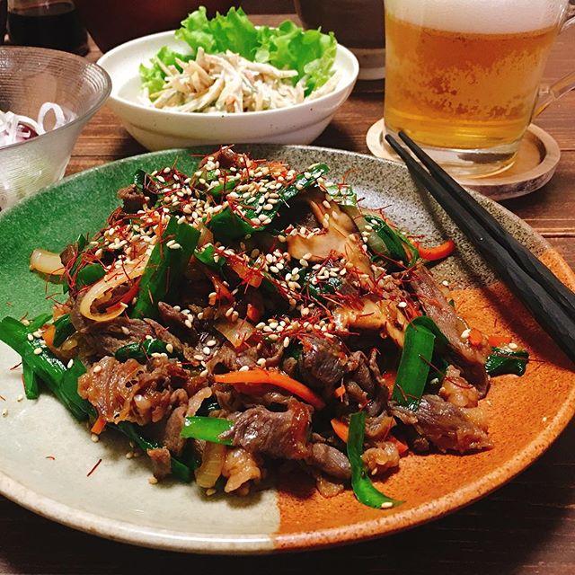 おもてなし韓国料理レシピ☆ランチ主菜4