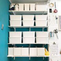 有孔ボードで壁におしゃれ収納を作ろう♪賃貸でもできる簡単DIY実例集!