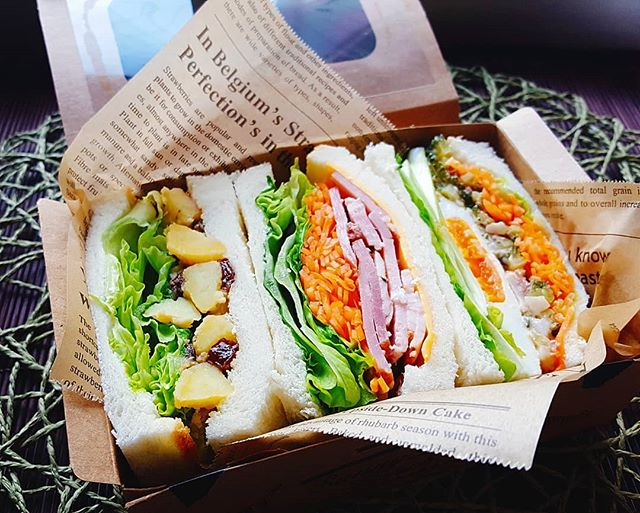 パン屋で買った?と言われるサンドイッチ弁当