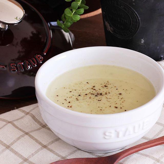 ピーマンと大豆のポタージュスープ