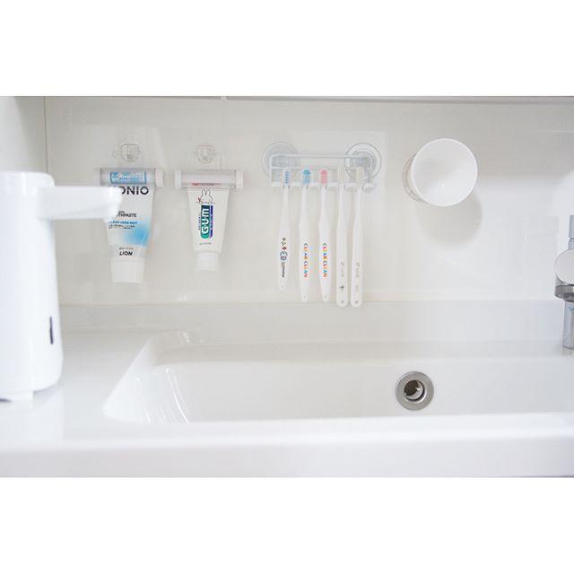歯ブラシの収納アイディア3