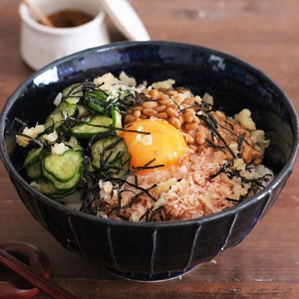 納豆でつるん♪胃腸に優しい納豆うどん
