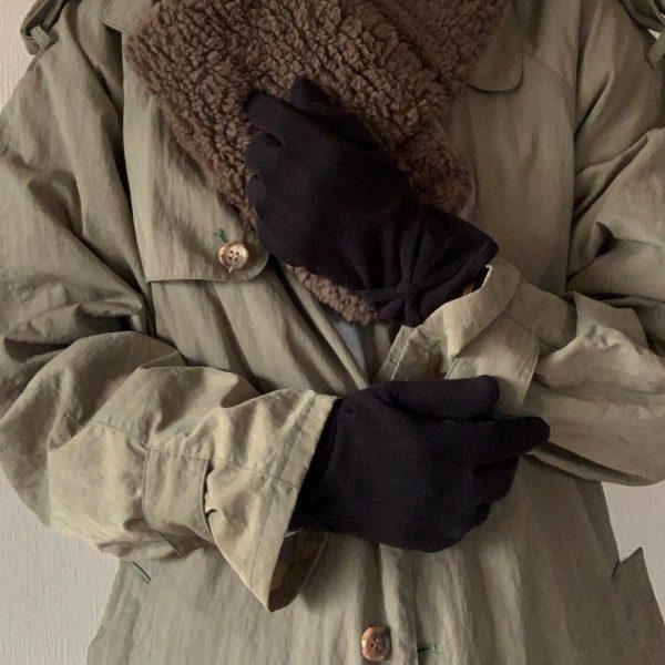 大人かわいい「スマホ対応手袋」2