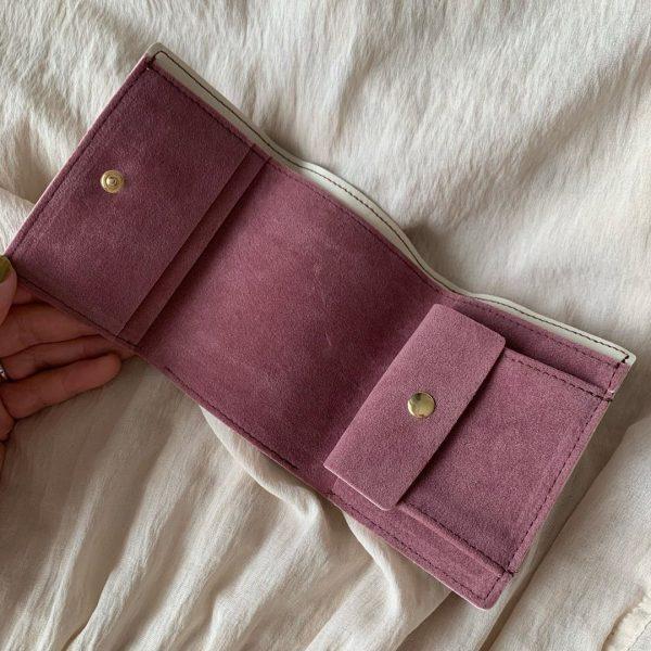 コンパクト三つ折り財布2