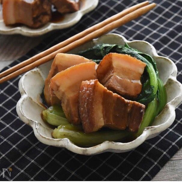 人気の献立!中華風角煮トンポーロー