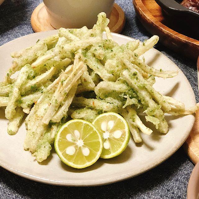 豪華に見える副菜レシピ!ごぼう天