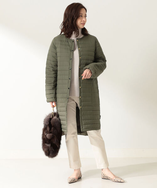 [BEAMS WOMEN] Traditional Weatherwear / ARKLEY ロング インナーダウン