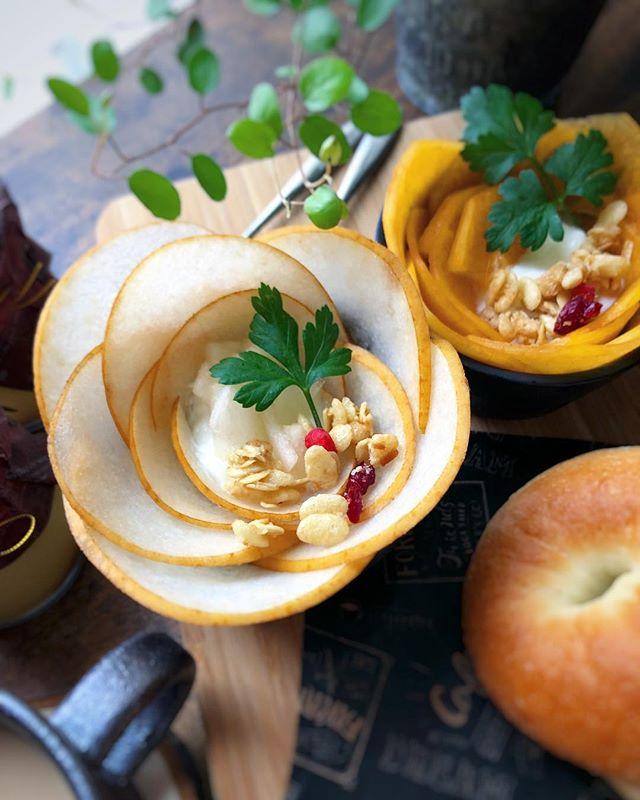 美味しいアレンジ料理!柿パフェ