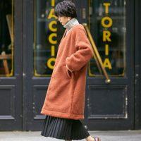 冬のテラコッタコーデ【2021】相性の良い色を組み合わせたお手本スタイルを紹介!