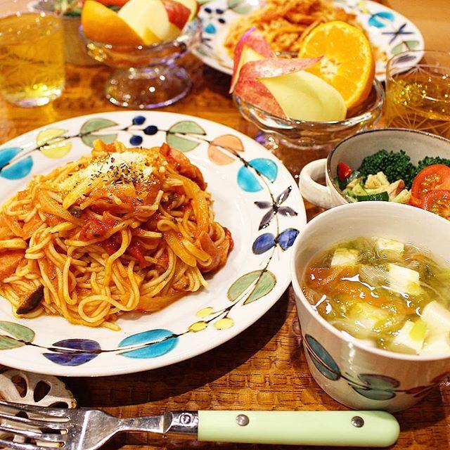 低カロリー!糖質0麺のトマトスパゲッティ