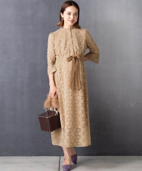 [Sweet Mommy] 総レースアンティークドレス