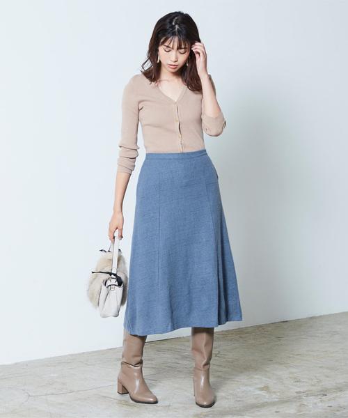 [ur's] Aラインフレアスカート