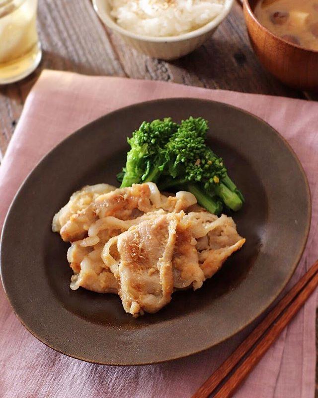 保存も可能な作り置き!豚肉の味噌生姜焼き