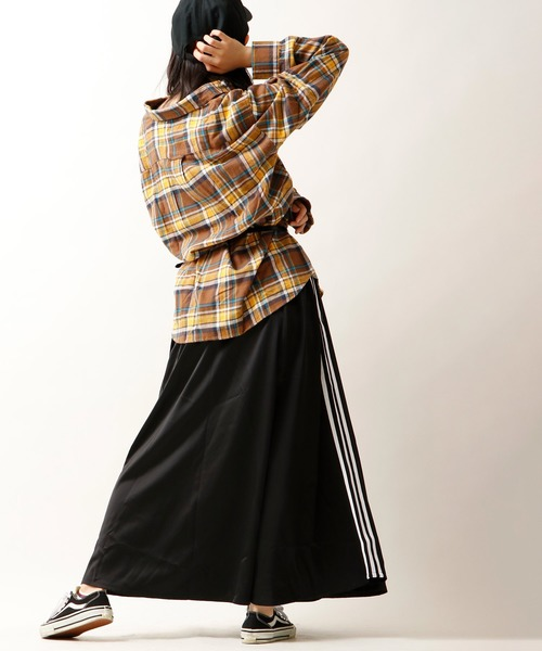 [FUNALIVE] 【GLOVEHOUSE】ネルチェックレギュラーカラー長袖シャツ2