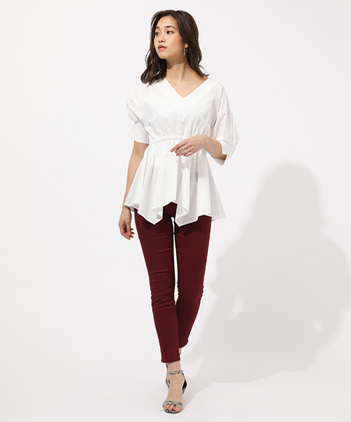 [AZUL BY MOUSSY] EASY WEAR COLOR SKINNY/イージーウェアーカラースキニー