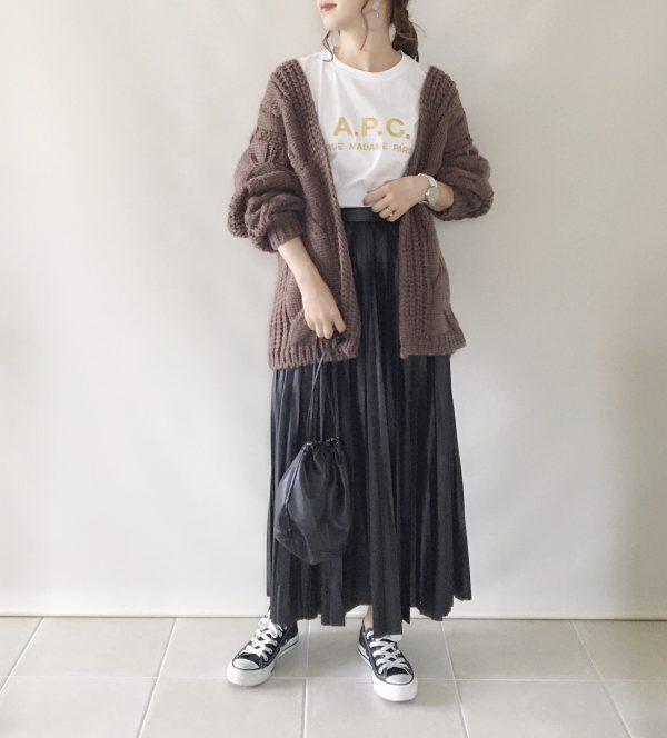 プチプラ秋ニット コーデ6