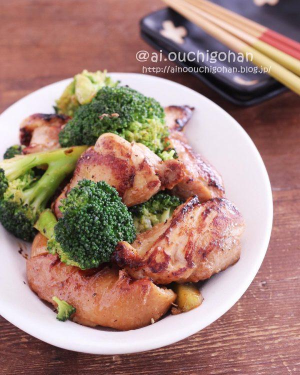 鶏肉とブロッコリー