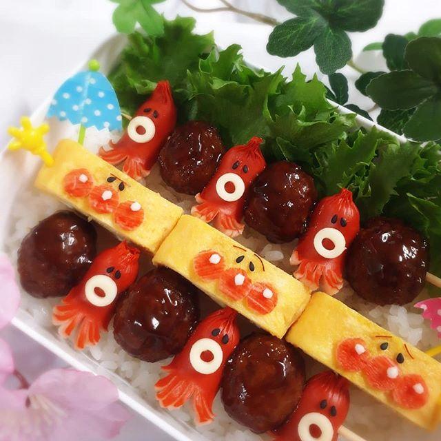 ピクニックのお弁当の詰め方☆ウィンナー3