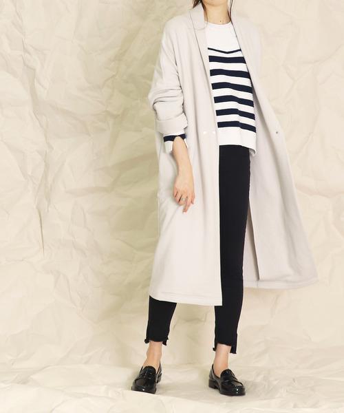 [DRESSLAVE] B7 / urake long gown(裏毛ロングガウン)