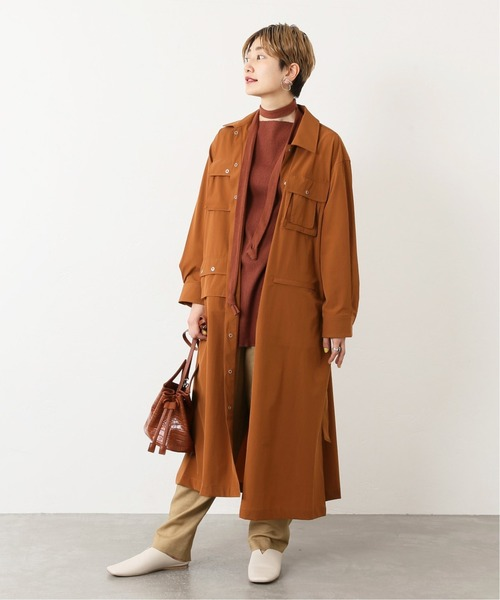 [JOURNAL STANDARD] 【NORTH BY NORTHEAST】別注ロングコート