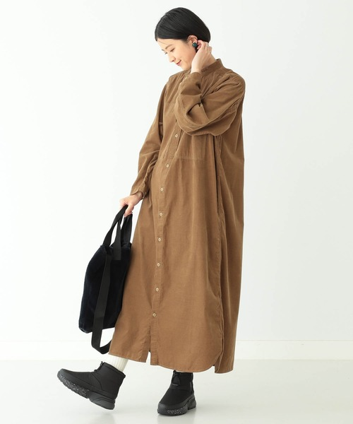 [BEAMS WOMEN] BEAMS BOY / USアーミー ワンピース