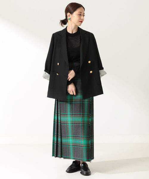 [BEAMS WOMEN] O'NEIL OF DUBLIN / MOYNALTY ロング キルトスカート