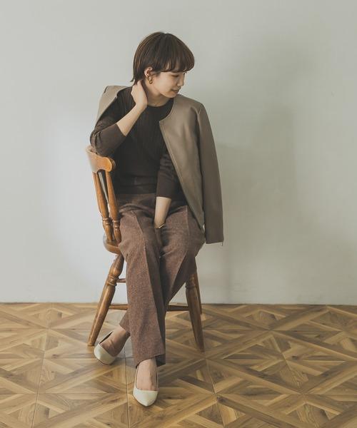 【2020秋冬】カフェオレコーデ《パンツ》6