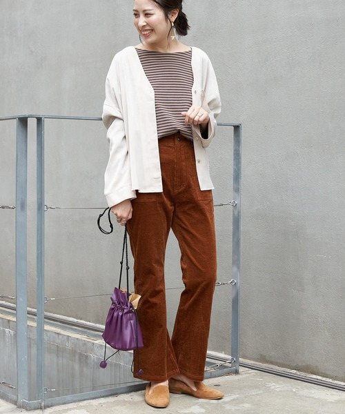 [CIAOPANIC TYPY] スウェードサテンシャツジャケット