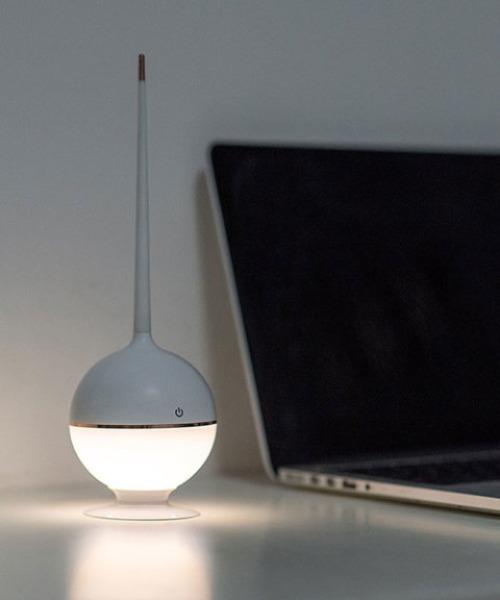 [entre square] bcl/Poke Ball ランプ ホワイト