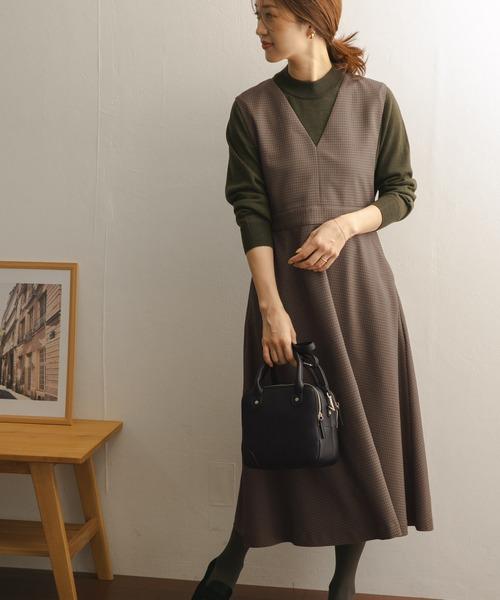 [URBAN RESEARCH DOORS] ウエストマークジャンパースカート