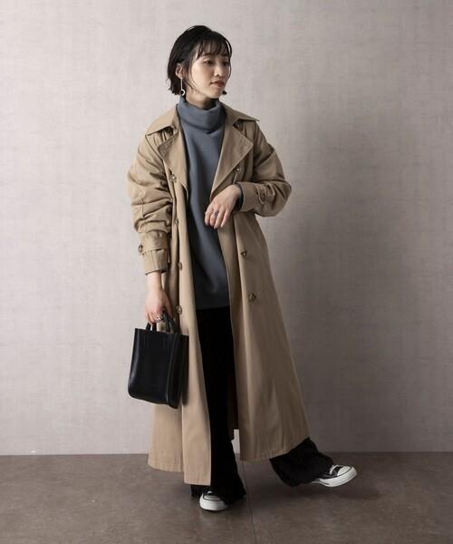 ショートヘアに似合う冬の服装|パンツ8